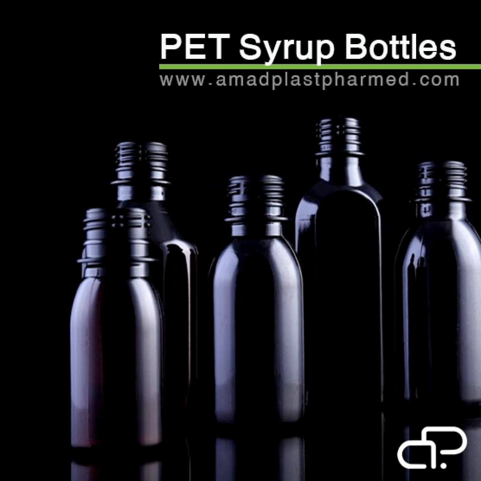 بطری های شربت رينگ دار